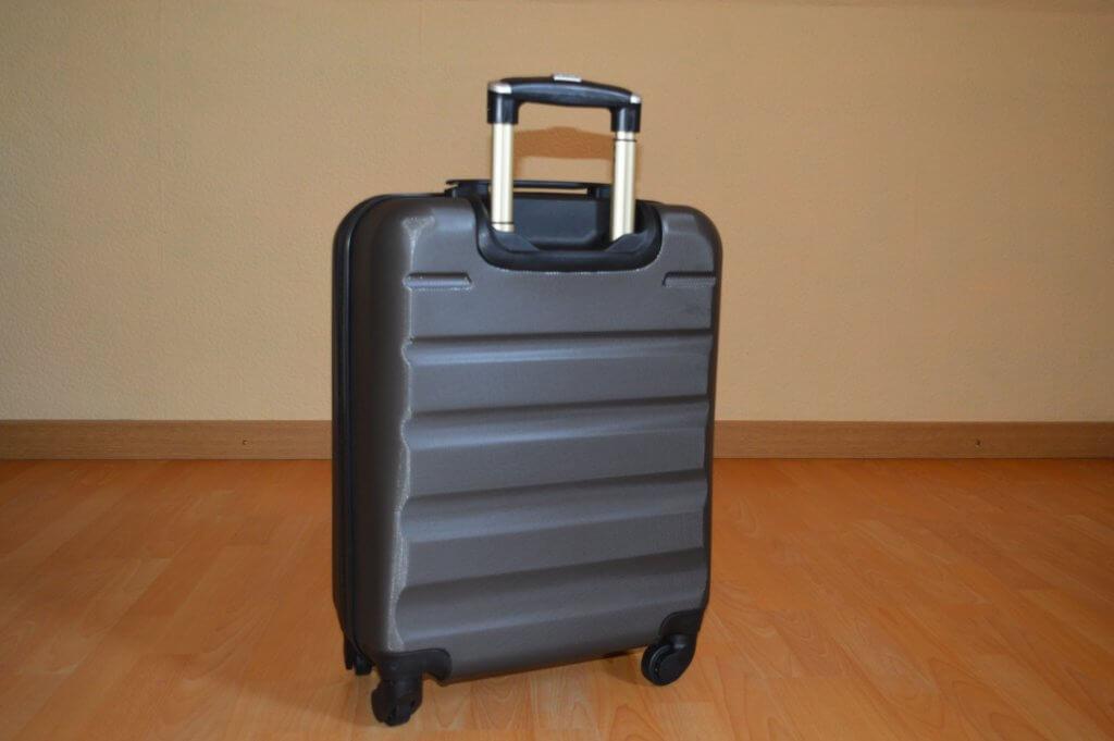 aerolite koffer test rückansicht
