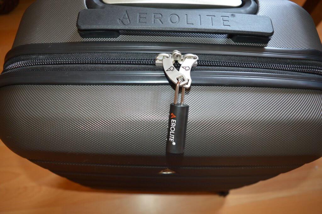 aerolite koffer schloss