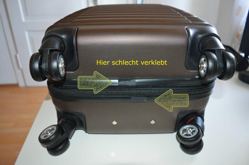 beibye koffer rollen